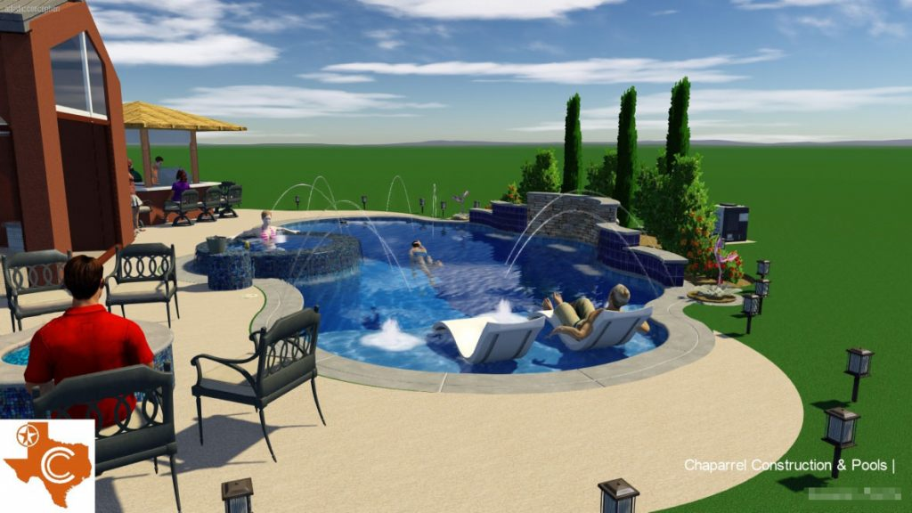 Pflugerville Swimming Pool Design