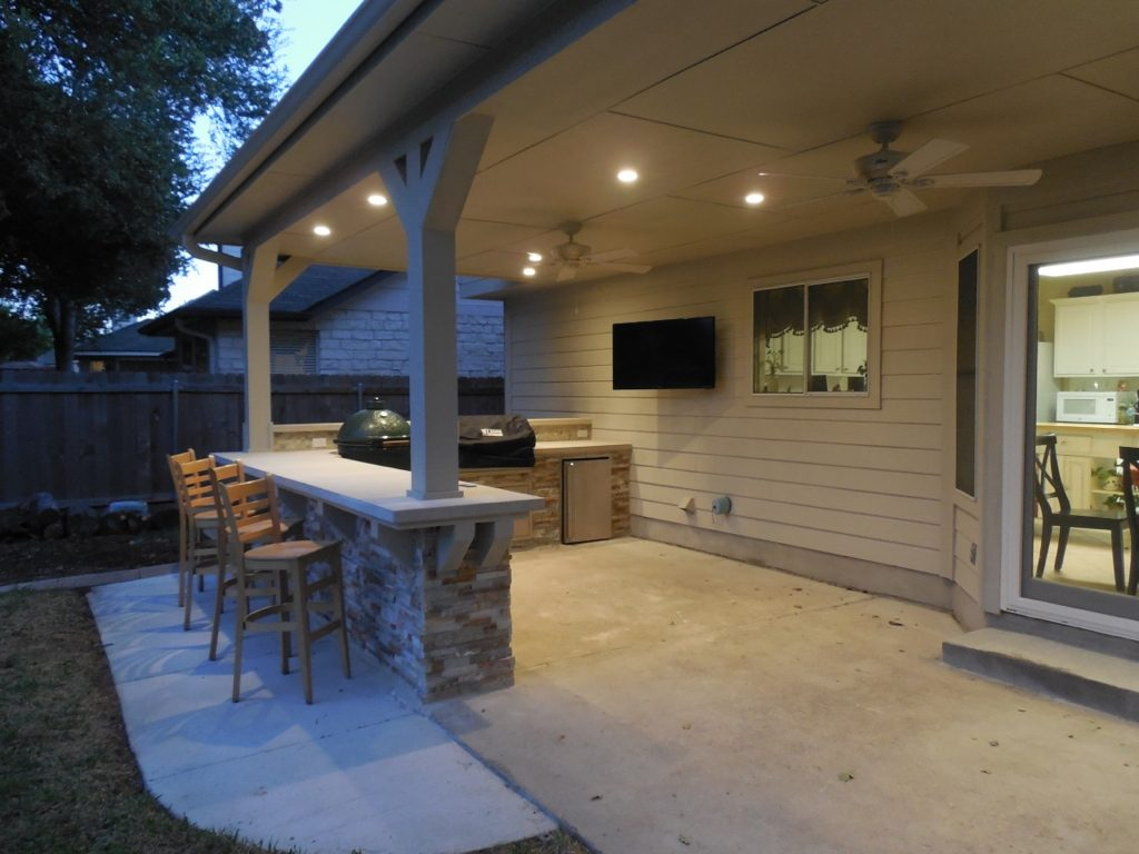 Cedar Park Covered Patio