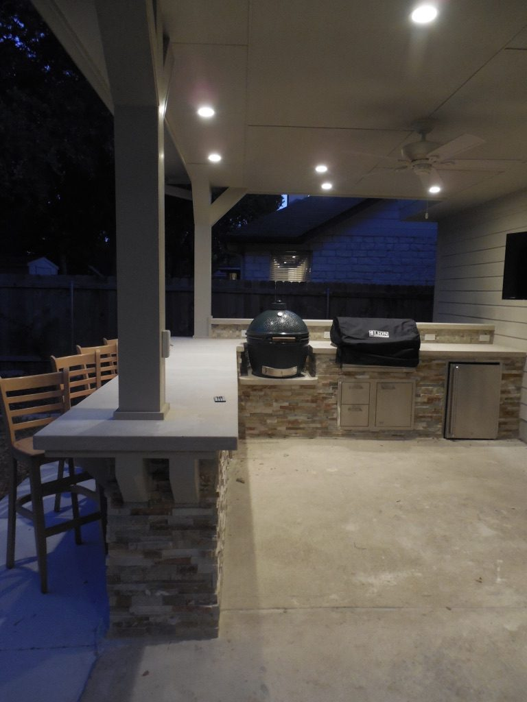 Cedar Park Outdoor Kitchen