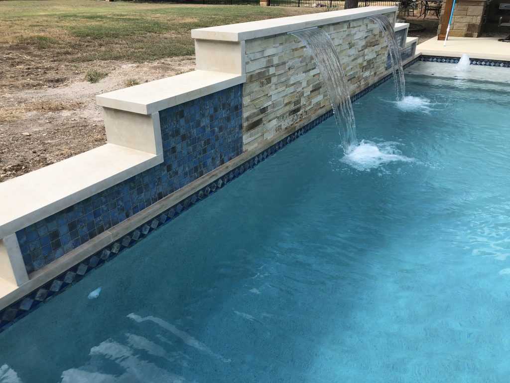 Georgetown Pool Feature Wall