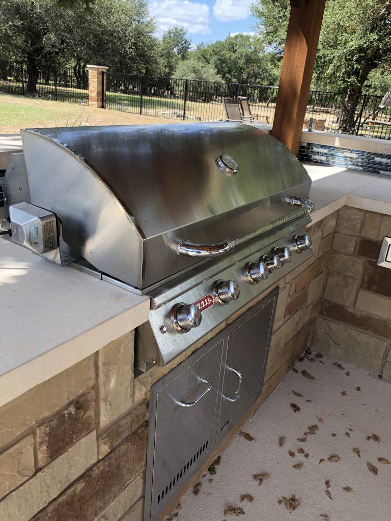 Bull outdoor BBQ