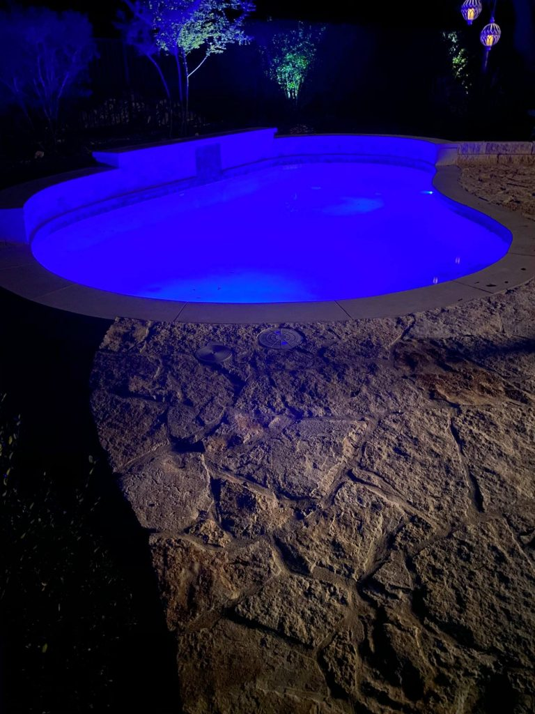 belterra pool night