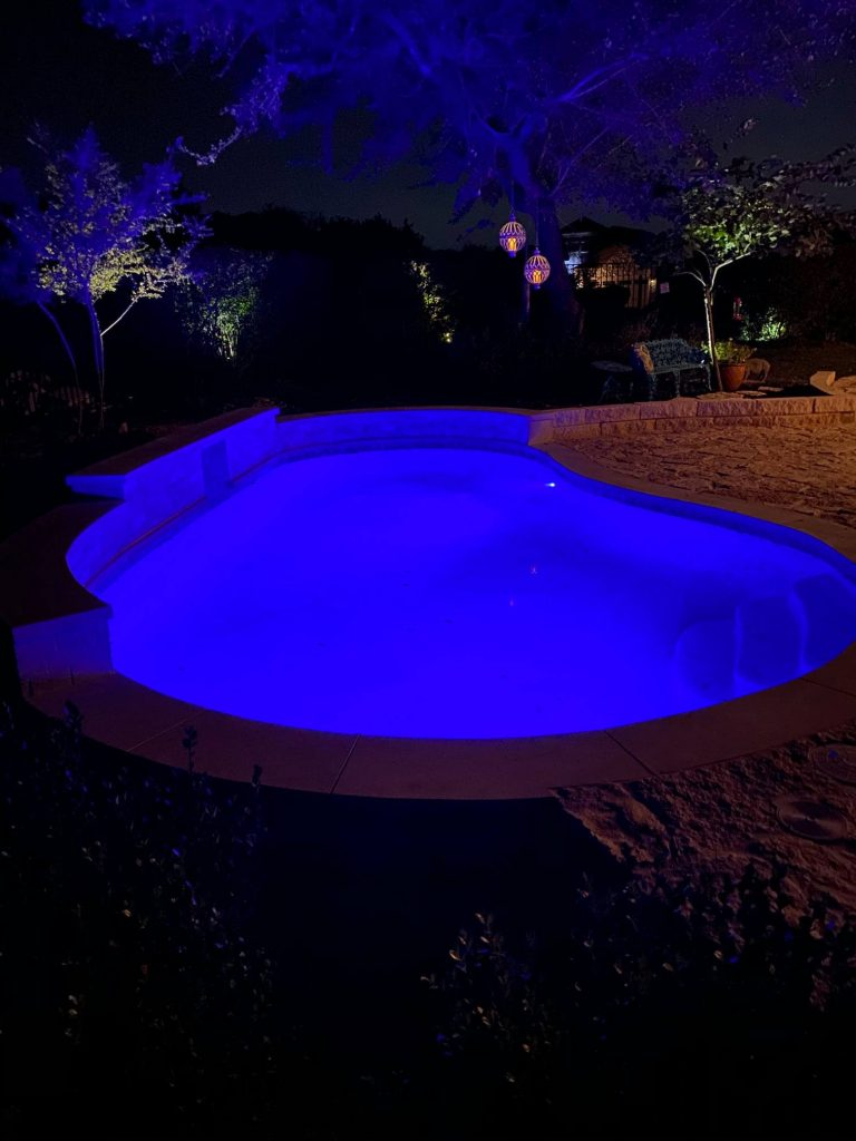 belterra pool night 2